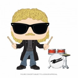 Funko POP: ZZ Top - Frank Beard