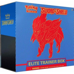 Pokémon - Sword & Shield Elite Trainer Box - Zam...