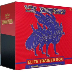 Pokémon - Sword & Shield Elite Trainer Box - Zacian