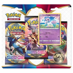 Pokémon Sword & Shield 3 Blister Booster - Ponyt...