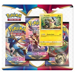 Pokémon Sword & Shield 3 Blister Booster - Morpe...