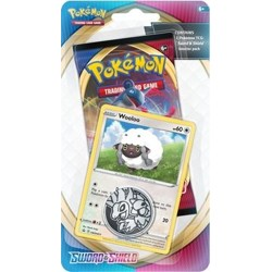 Pokémon Sword & Shield Checklane booster - Woolo...