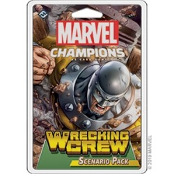 Marvel Champions: The Card Game - The Wrecking Crew (Scenario Pack)