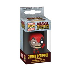 Funko POP: Keychain Marvel Zombies - Deadpool