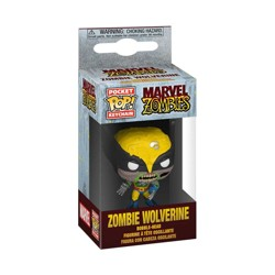 Funko POP: Keychain Marvel Zombies - Wolverine
