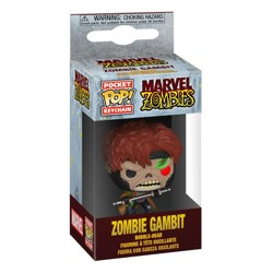 Funko POP: Keychain Marvel Zombies - Gambit