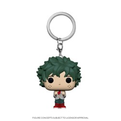 Funko POP: Keychain My Hero Academia - Deku in School Uniform