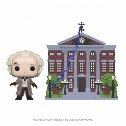 Funko POP: Town Back to the Future - Doc with Cl...