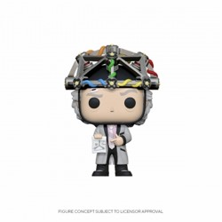 Funko POP: Back to the Future - Doc with helmet