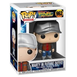 Funko POP: Back to the Future - Marty in Future ...