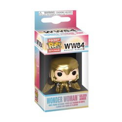 Funko POP: Keychain Wonder Woman 1984 - Wonder Woman Golden Armor (Gold Wing)
