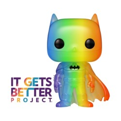 Funko POP: Pride 2020 - Batman (RNBW)