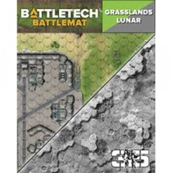 BattleTech: Battle Mat Grasslands Lunar
