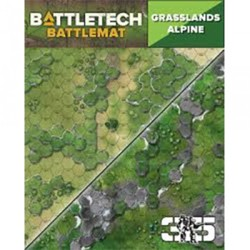 BattleTech: Battle Mat Grasslands Alpine
