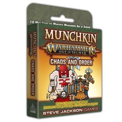 Munchkin Warhammer: Age of Sigmar - Chaos and Order