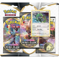 Pokémon Sword & Shield - Rebel Clash 3 Blister B...