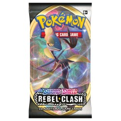 Pokémon Sword & Shield - Rebel Clash - 1 Booster