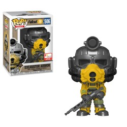 Funko POP: Fallout 76 - Excavator Armor with Gun