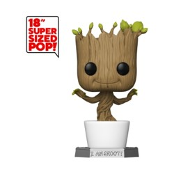 Funko POP: Guardians Of The Galaxy - Dancing Groot 18''