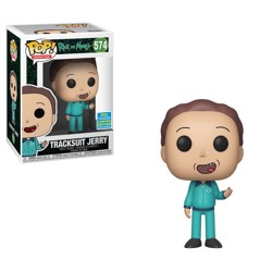 Funko POP: Rick and Morty - Tracksuit Jerry SDCC...