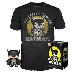 Funko POP Tee Box: DC Comics - Batman Sun Faded ...