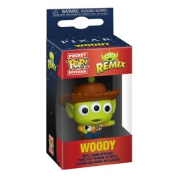 Funko POP: Keychain Pixar- Alien as Woody