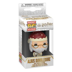 Funko POP: Keychain Harry Potter - Holiday Albus Dumbledore