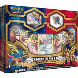 Pokémon TCG: Sword & Shield Premium Figure & Pin...