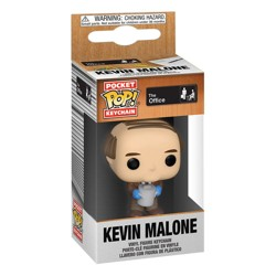 Funko POP: Keychain The Office - Kevin with Chili