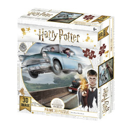 Puzzle - Harry Potter - Ford Anglia 3D (300 dílků)
