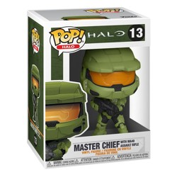 Funko POP: Halo Infinite - Master Chief with MA4...