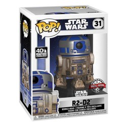 Funko POP: Star Wars - Dagobah R2-D2