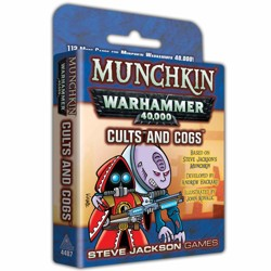 Munchkin Warhammer 40k: Cults and Cogs