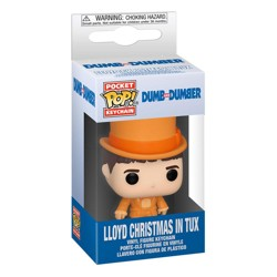 Funko POP: Keychain Dumb & Dumber - Lloyd In Tux