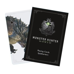 Poker karty - Monster Hunter World - Monsters