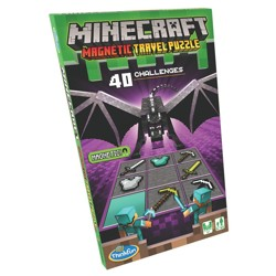 Minecraft - Magnetic travel puzzle