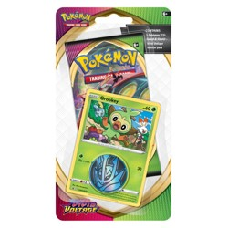 Pokémon Sword & Shield - Vivid Voltage Checklane booster - Grookey