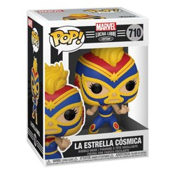 Funko POP: Marvel Luchadores - Captain Marvel