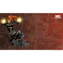 FFG - Marvel Champions: Black Widow Game Mat