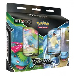 Pokémon TCG: Blastoise V / Venusaur V Battle Deck bundle