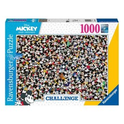 Puzzle - Mickey Mouse and Friends Challenge (1000 dílků)