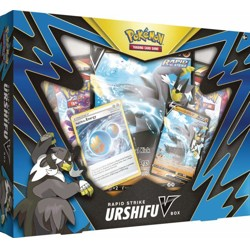 Pokémon TCG: Rapid Strike Urshifu V box