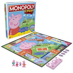 Monopoly junior - Prasátko Peppa